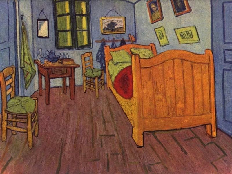 Van Gogh, La casa e camera di Vincent ad Arles